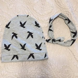Other - Mommy and Me Beanie/headband Set